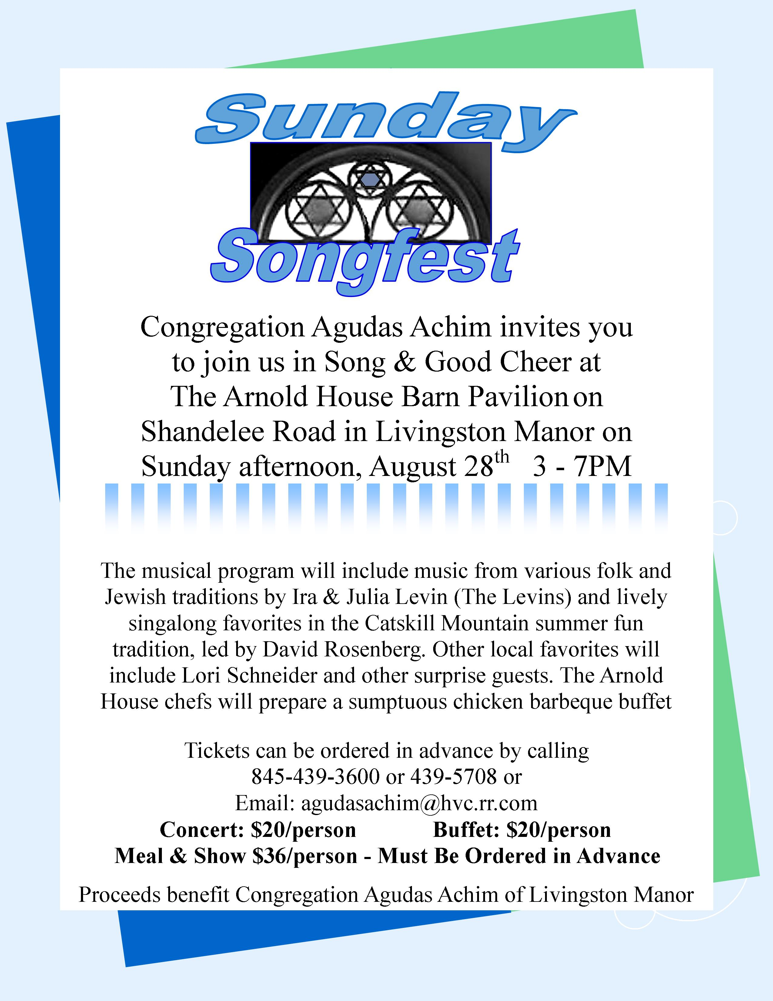 Songfestposter